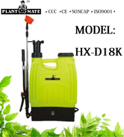 18L Pump Sprayer Agriculture Electric Sprayer (Knapsack) (HX-D18K)