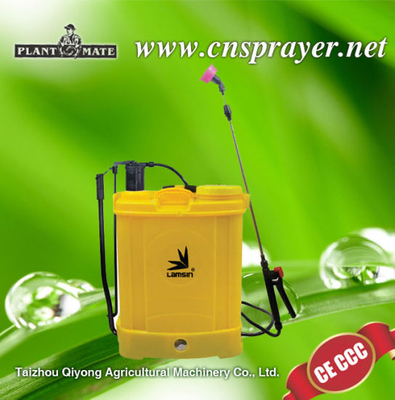 Battery Powered Backpack Sprayer Wide Mouth with Steel Wand and Brass Nozzle (HX-D18F)