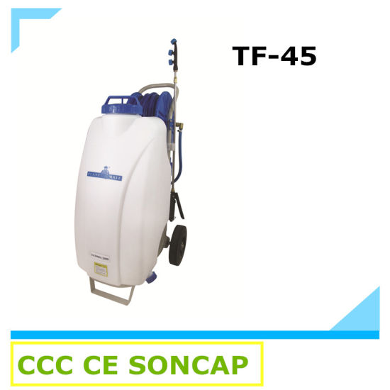Portable 45L Big Rechargeable Electric Agricultural Power Sprayer with Wheels Price (TF-45)
