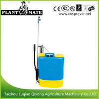 16L High Quality Ss Pump Plastic Agricultural Manual Sprayer (3WBS-16M)